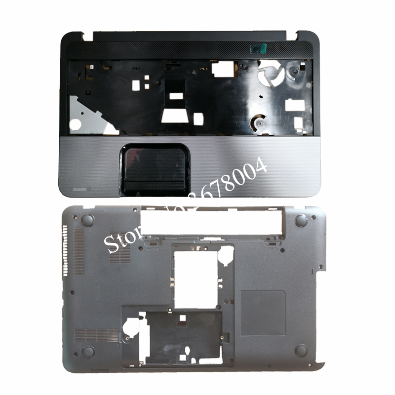 NEW Case cover For TOSHIBA L850 L855 C850 C855 C855D Palmrest COVER / Laptop Bottom Base Case Cover V000271660 sheli v000275560 laptop motherboard for toshiba satellite c850 c855 l850 l855 6050a2541801 uma hd 4000 hm76 main board works
