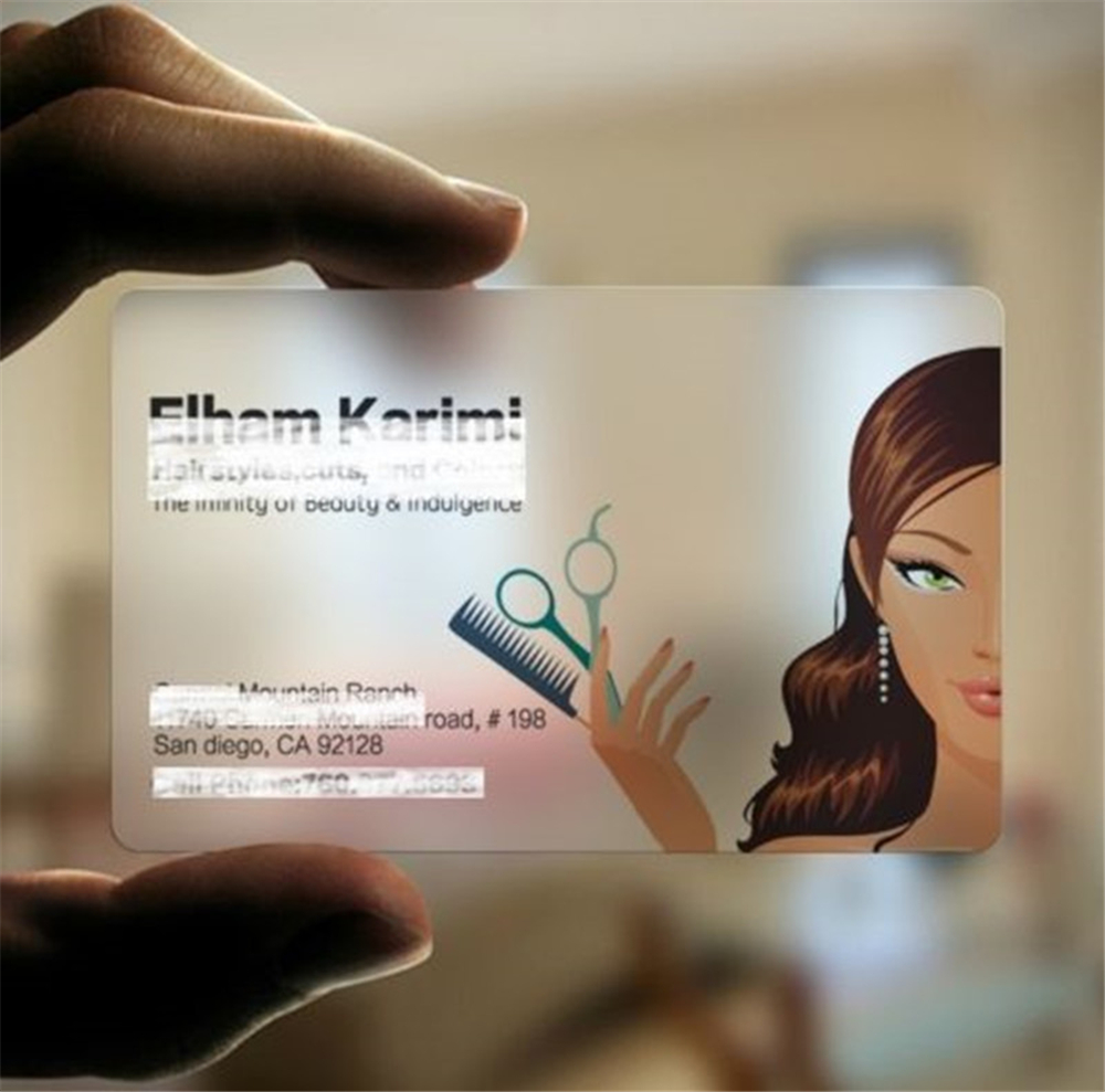 Business Cards Clear Plastic Image collections - business card ...