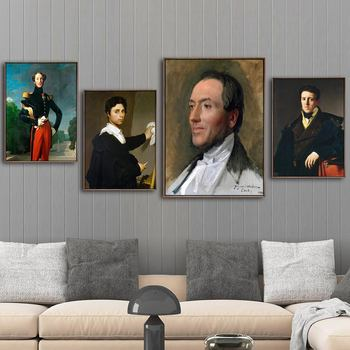 Home Decoration Print Canvas Art Wall Pictures for Living Room Poster Landscape Paitings French Jean-Auguste-Dominique ingres 2 image