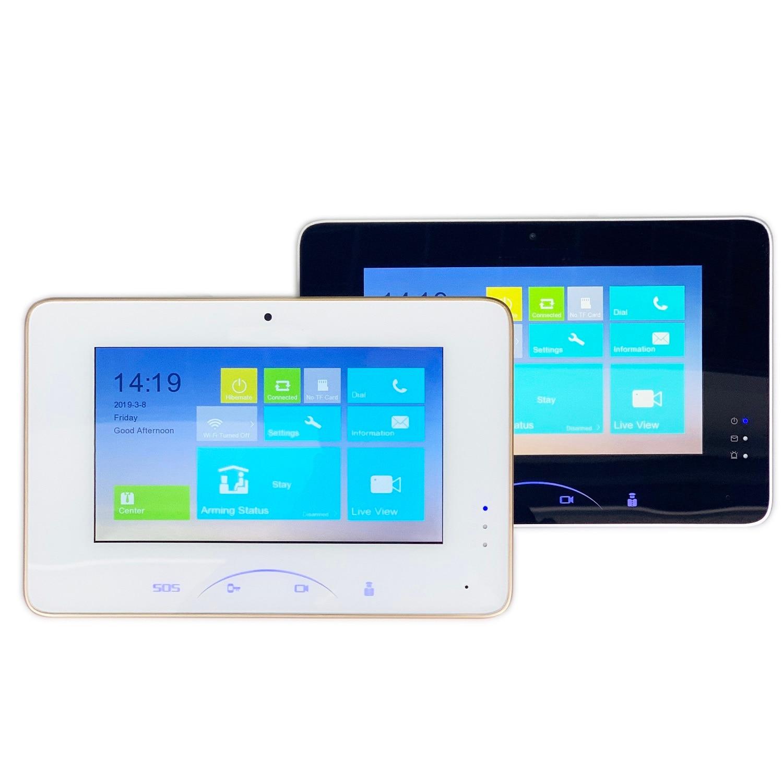HIK Multi-Language Indoor Monitor DS-KH8301-WT,phone App Hik-Connect,camera WiFi,Video Intercom Monitor,IP Doorbell Monitor