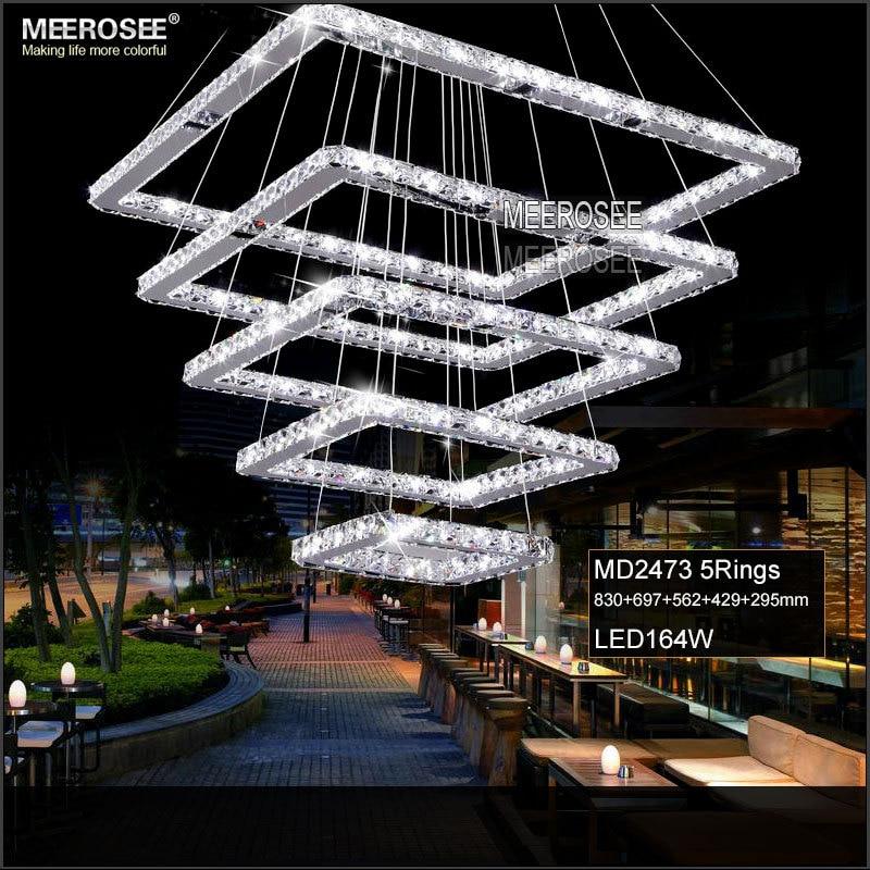 Lighting Basement Washroom Stairs: Aliexpress.com : Buy Square Crystal LED Ceiling Light