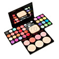 2016 Gamiss  Women Naked  Makeup Eye Shadow Palette  Bright Shining Colorful Eye Shadow Flash Glitter Make Up Set With Brush