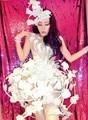 Cantor bar boate Feminino saia arrastando trajes bodysuit Rainha estilo Fada Stage Mostra dancewear roupas de serviços de fotografia