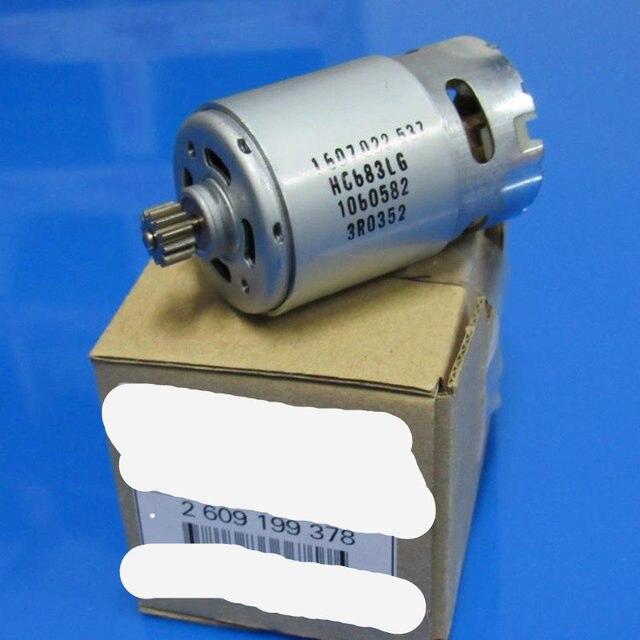 12 Teeth  Motor Parts Set 2 609 199 378 2609199378 14.4V For  BOSCH GSR1440 LI  TSR1440 LI Cordless Drill Driver