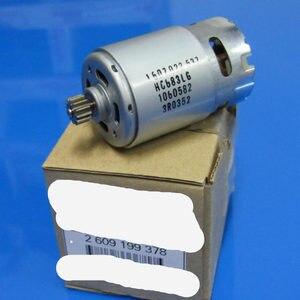 Image 1 - 12 zähne Motor Teile Set 2 609 199 378 2609199378 14,4 V Für BOSCH GSR1440 LI TSR1440 LI Akku bohrschrauber Fahrer