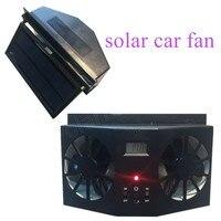 High Quality 12V Black Car Solar Window Portable Air Vent Cool Fan Cooler Ventilation System Radiator