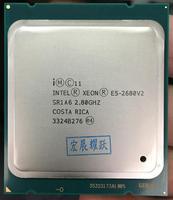 Intel Xeon Processor E5 2680 V2 CPU 2.8 LGA 2011 SR1A6 Ten Cores Server processor e5 2680 V2 E5 2680V2