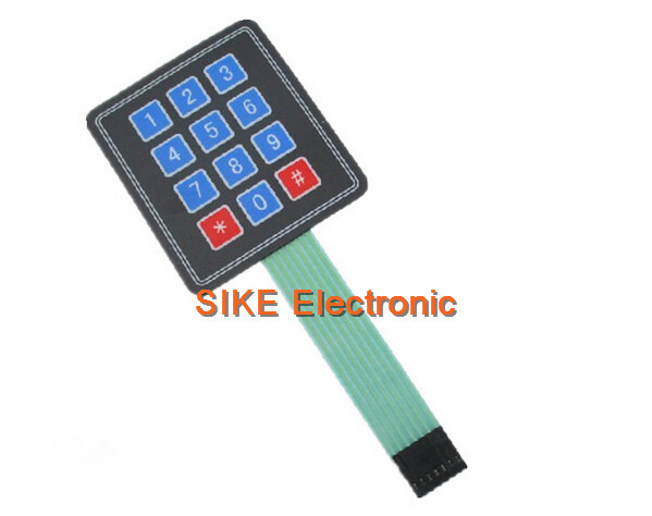 Matrix keyboard for arduino array module key