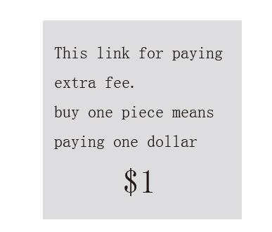 This link is only for paying a fee buy one piece means paying one dollar