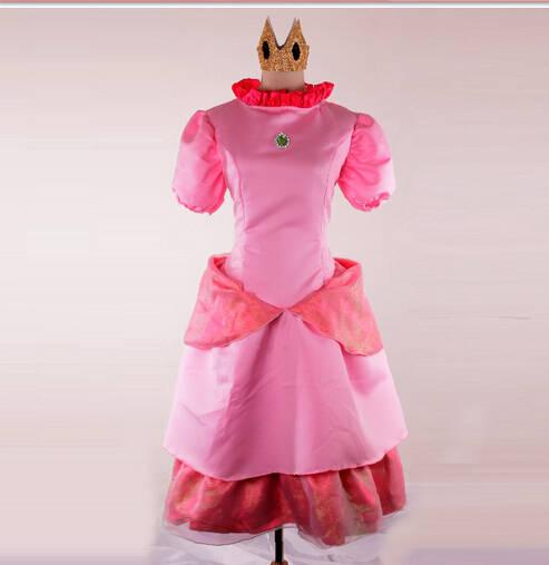 Us 34 19 5 Off Halloween Sexy Costumes Womens Princess Peach Super Mario Costume Maids Carnival Hot Fancy Dress Cosplay Women On Aliexpress