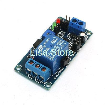 Replacement DC 9V High/Low Level Trigger Time Timer Delay Relay Module
