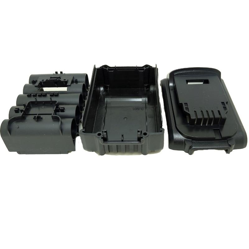 20v-Li-ion-Rechargeable-Battery-case-for-Dewalt-Plastic-Shell-Box-No-Cells-Inside-DCB180-DCB181