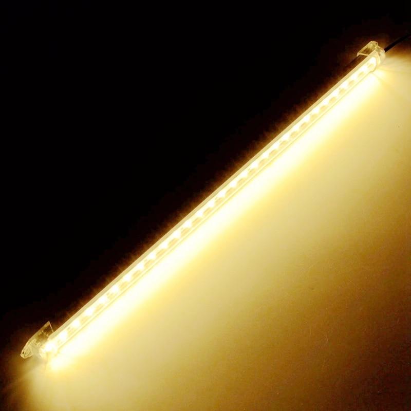 40cm 30 LED Interior Aluminum 5630 SMD LED Bar Light 12V Strip Bar Lamp Van Caravan LWB Fish Tank