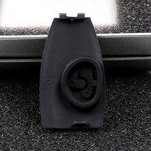 Reyann 5 pièces en métal 3D pommier Badge clé couverture Compatible pour Mercedes Benz AMG clé couverture W204 W205 W207 W218 W212 W221 W222