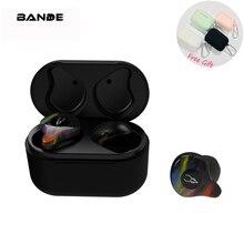 X8 אלחוטי אוזניות Bluetooth אוזניות באוזן סטריאו עם טעינת תיבה