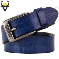 Echtes leder gürtel für frauen Mode Pin schnalle frau gürtel Qualität zweite schicht kuh haut strap weibliche für jeans breite 3,2 cm