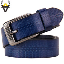 купить New Fashion belts for women cow genuine leather pin buckle well-pressed high quality woman belt Luxury female strap for jeans по цене 505.42 рублей