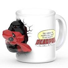 New arrival 3D  Mug Ceramic Creative Coffee Mug Funny Porcelain Novelty Boy Friend Gift 300ml