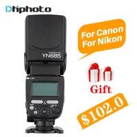 YONGNUO YN685 YN 685 YN 568EX II Upgraded Version Wireless HSS TTL Speedlite Flash Support YN560IV