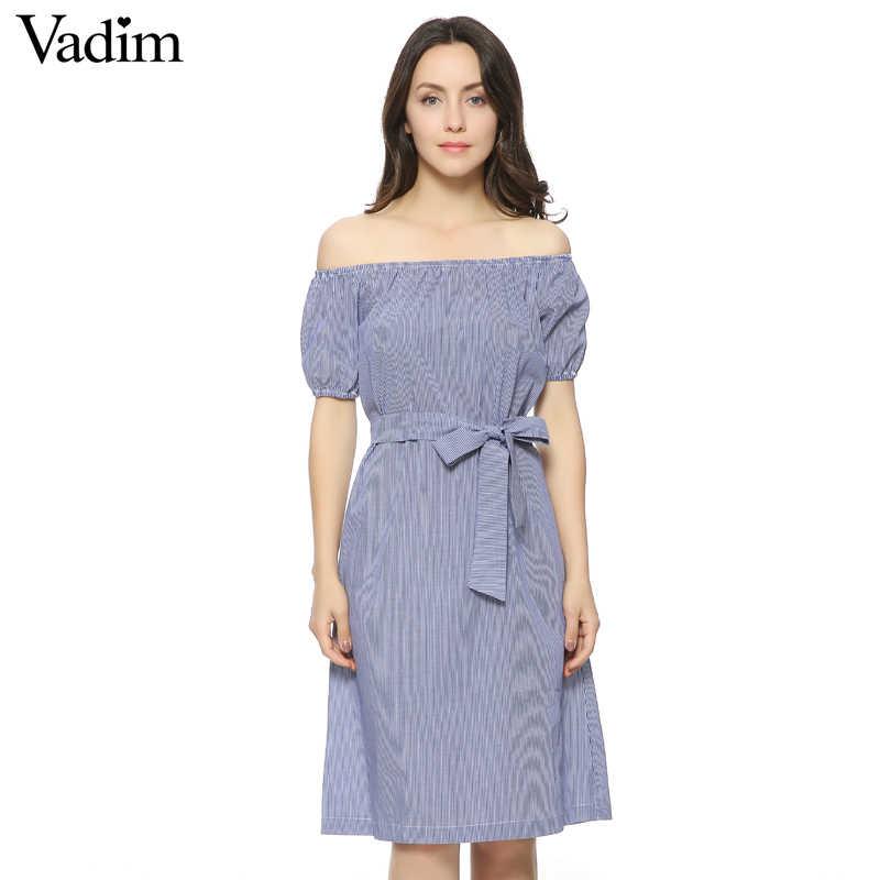 Женское сексуальное Полосатое платье с поясом, короткий рукав карманы, дизайн, Дамское летнее модное Повседневное платье, vestidos QZ2429