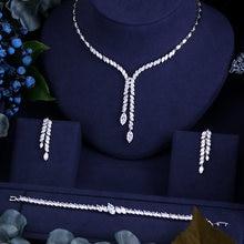 En iyi kalite parlak kristal zirkon küpe ve kolye bilezik gelin takı setleri ve MOR düğün elbisesi aksesuarları