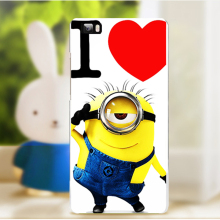 Soft TPU Hard Plastic Cartoon Cases for Huawei Ascend P8 Lite P8 Mini ALE_L21 ale l21/P9