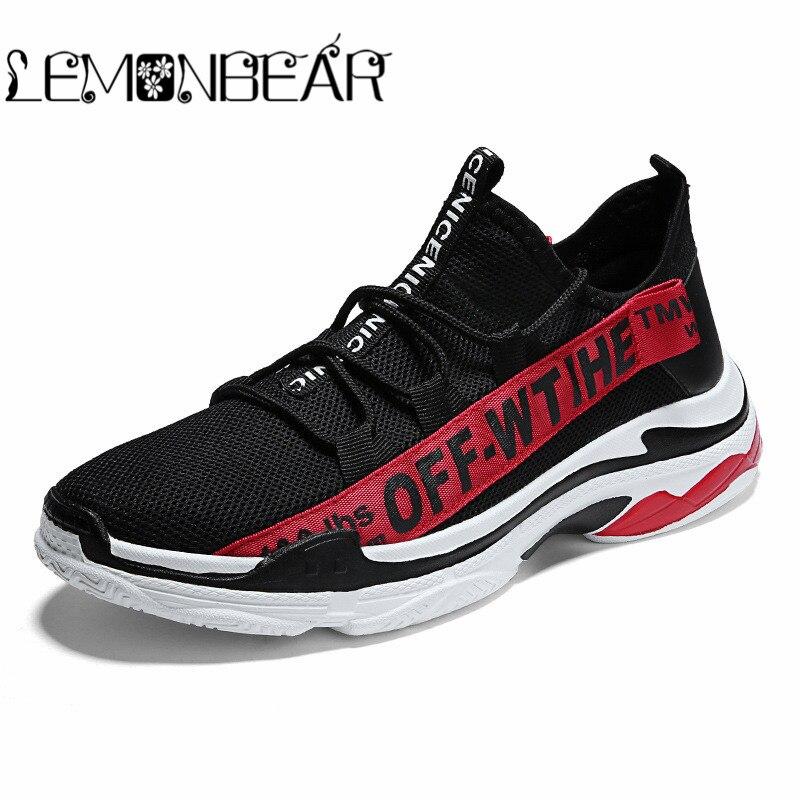 black Tamaño Hombres white Zapatos Malla Formación Blanco Alta Red Nueva Negro White De Deporte Verano Black Calidad Primavera Otoño Los Casuales Zapatillas Aire tRFnxYqq