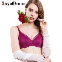 Women Lace Bras Wireless Bralette Seamless Bra Push Up Natural Silk Underwear Deporte Sujetador Reggiseno Free