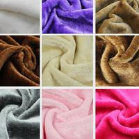 50x148cm Soft Polyester Plush Fabric Faux Fur Red Blue Pink Toy Cloth For Textile Curtain Tela