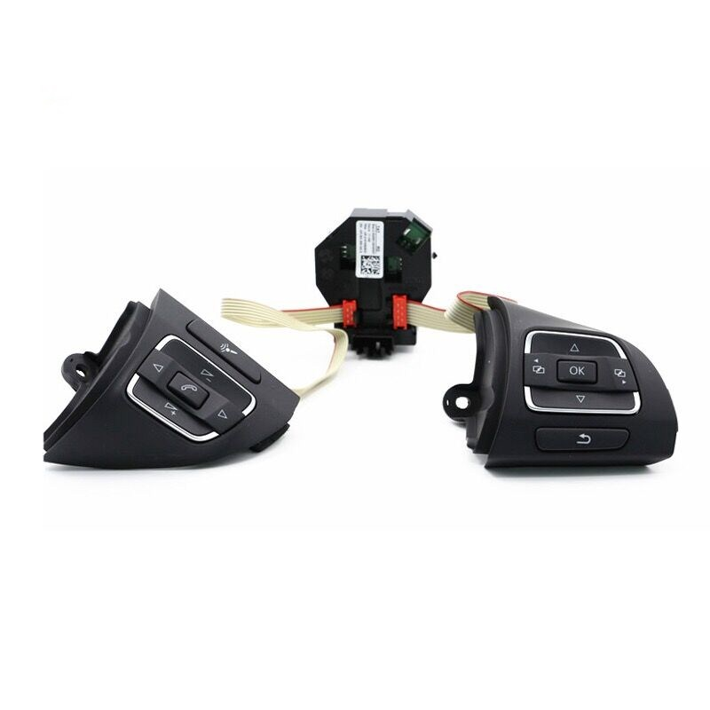 Saborway Steering Wheel Multifunction Control Switch And Module For Golf EOS Tiguan Touran 5C0959537A 5C0959538B