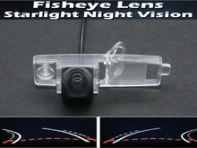 1080P Fisheye LensTrajectory Tracks Parking Car Rear view Camera For Toyota Highlander 2003 2004 2006 2007 2008 2009 2010 2011