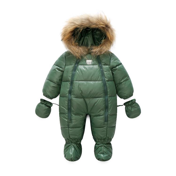 Зимняя Детская куртка, теплое пальто для маленьких девочек, внутренняя флисовая зимняя верхняя одежда и пальто на утином пуху для маленьких...