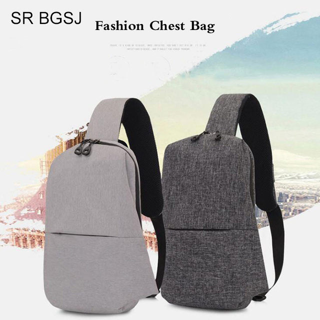 344fb12817c1 Free Shipping 2018 Hot Sale Large Capacity Chest Bag For Men Female Nylon  Sling Bag Casual Crossbody