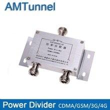 כוח ספליטר 2 דרך מחיצת כוח 380 ~ 2500MHz N נקבה עבור 2G 3G 4G בוסטרים משחזר מגבר