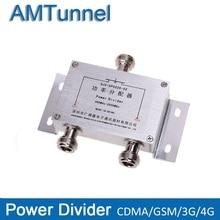 Power splitter 2 3 wege leistungsteiler 380 ~ 2500MHz N Weibliche für 2G 3G 4G booster repeater verstärker