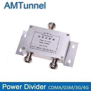 Image 1 - power splitter 2 way  power divider 380~2500MHz N Female for 2G 3G 4G booster repeater amplifier