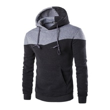 2016 Hoodies Männer Sudaderas Hombre Hip Hop-männer Marke Hoodie Dekorative Tasche Sweatshirt Anzug Slim Fit Männer Hoody XXL