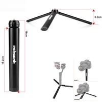 Pergear Aluminum Mini Table Tripod Leg For Tripod Head Selfie Stick Extendable Monopod Smartphones Cameras Zhiyun