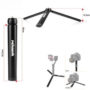 Image 1 - Pergear Aluminum Mini Table Tripod Leg for Tripod Head Selfie Stick Extendable Monopod Smartphones Cameras Zhiyun Smooth Q2 4