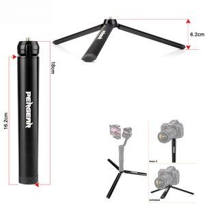 Image 1 - Pergear di Alluminio Mini Treppiede Da Tavolo Gamba per la Testa del Treppiede Selfie Stick Allungabile Monopiede Smartphone Telecamere Zhiyun Liscia Q2 4