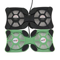 2 Porta USB Mini Octopus Laptop Cooler Cooling Pad Folding Coller Fan Cooling Pad Atacado Loja
