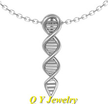 Fahsion Hippie Chic Science DNA Necklace Colar Boho Molecule Maxi Necklace Ladies Necklaces For Women Jewelry Gift