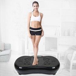 La terapia magnética vibración Fitness masajeador adelgazante quema grasa ejercicio muscular equipos de entrenamiento con Altavoz Bluetooth HWC