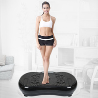 Magnetic Therapy Vibration Fitness Massager Slimming Fat Burning Exercise Muscle Workout Equipment with Bluetooth Speaker HWC