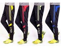 Spodnie treningowe do piłki nożnej, Poliester spodnie utwór, Wyposażenie Siłowni Sportowe Czarne Spodnie Odzież męska na zewnątrz Piłka Nożna spodnie Do Biegania