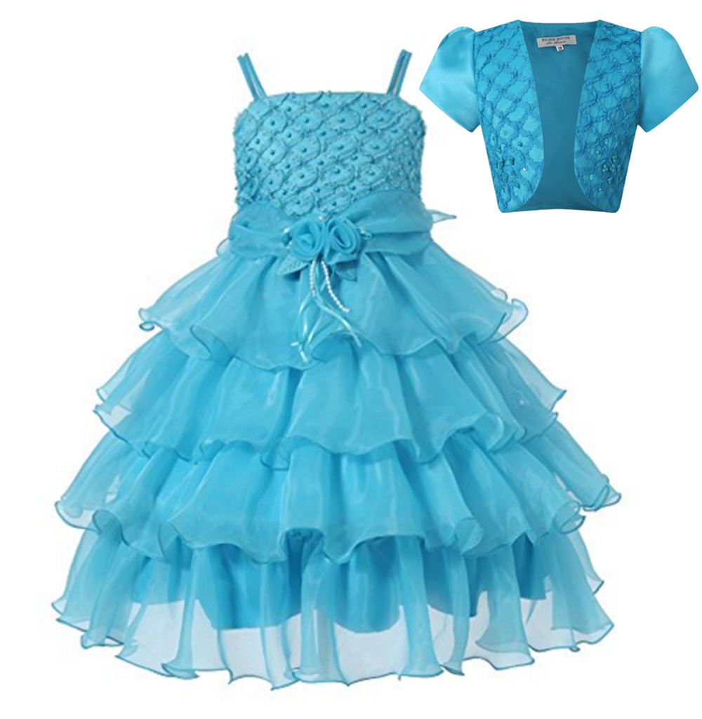 New Girl Dress Ceremony Summer Sleeveless V-neck Princess Dresses Teenagers Girls School Prom Gowns Dresses Kids Formal Clothes red new summer flower kids party dresses for weddings formal princess girl evening prom sleeveless girl bow mesh dress clothes