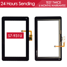 Tested High Quality Sensor Tablet PC Touchscreen For Huawei Mediapad S7 Lite S7-931U Touch Screen Glass Panel Replacement Parts
