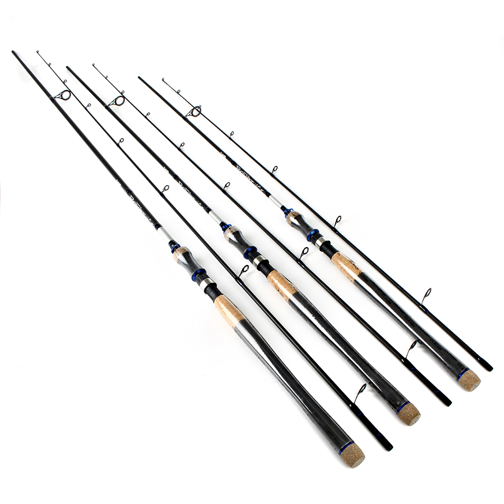 FTK 4117 2 Section High Carbon 2.1M-2.7M Soft Lure Fishing Rod Lure Weight 2-40g Spinning Fishing Rod For Lure Fishing цена