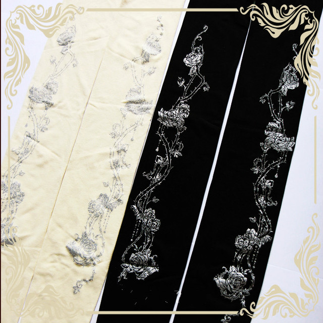 Princesa doce meia-calça lolita Lolita Meia-calça de Impressão Coelho Espinhos Corolla Originais G06