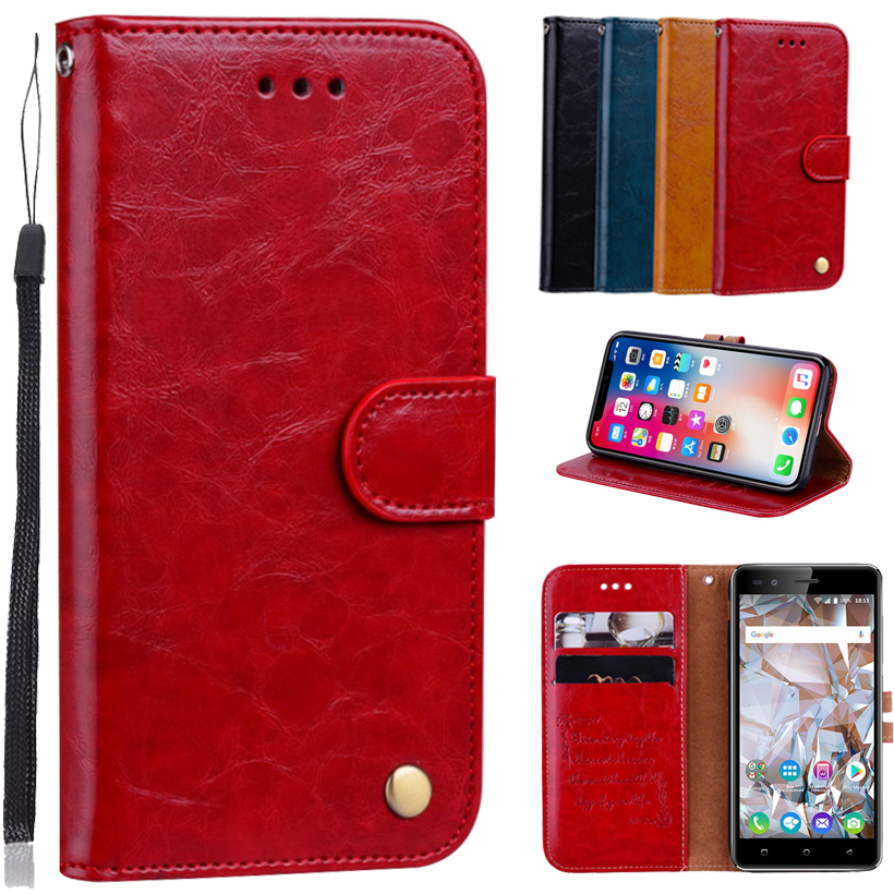 Newest Wallet Case For BQ BQ-5054 Crystal Book Case Back Cover Case 5.0 100% Special PU Leather Flip Cover Phone Bag B01